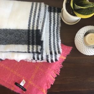 Lot of Blanket Scarves Banana Republic & Nordstrom
